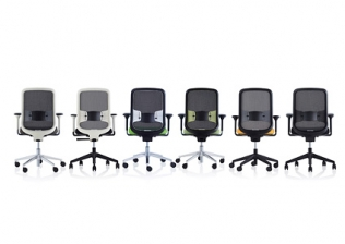 1.5) Orangebox 'DO' Mesh Back Task Chair