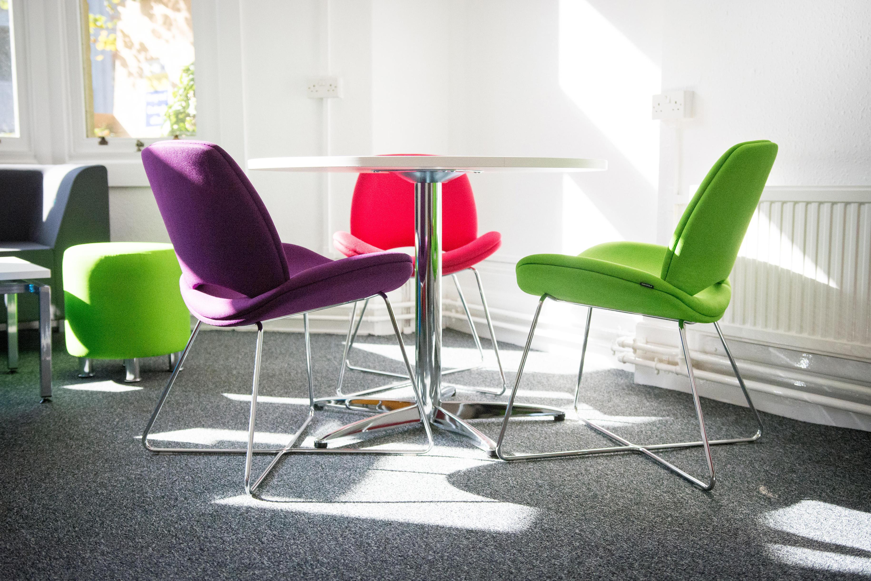 Cardiff University Social Space DG Office Interiors