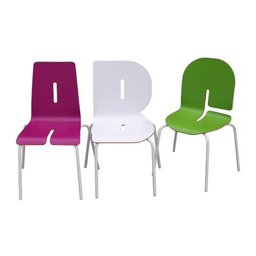 Funky furniture classroom chair for Funky cafe furniture