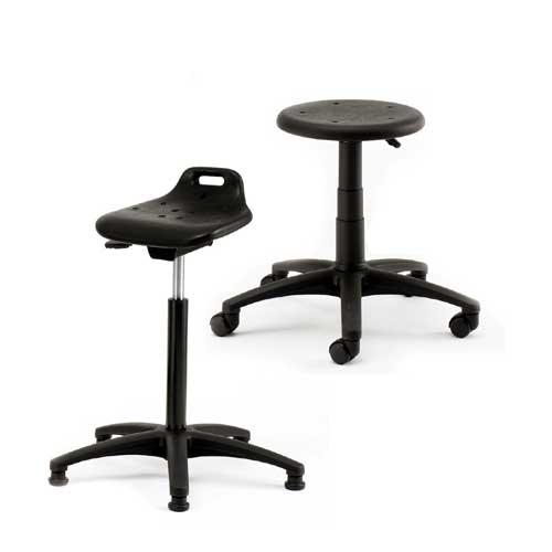 Brilliant Industrial Laboratory Stool Bralicious Painted Fabric Chair Ideas Braliciousco