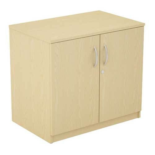 Wooden Storage : Two Door Low Storage Cupboard