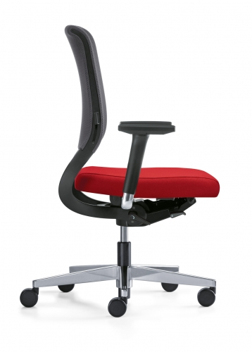operator task chairs netwin mesh back task chair. Black Bedroom Furniture Sets. Home Design Ideas
